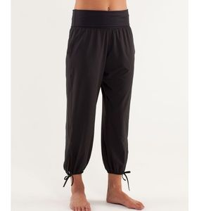 Lululemon Om Pants Black Joggers